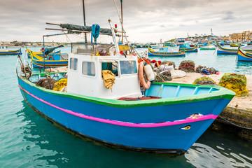 Bateau de pêche maltais, Malte