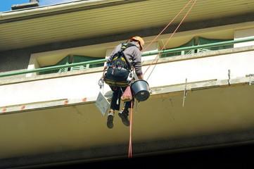 chantier-travaux acrobatiques