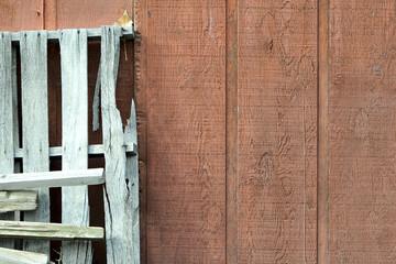 Old Rustic Barn Wall