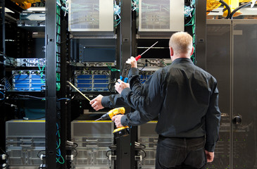 Network server installation