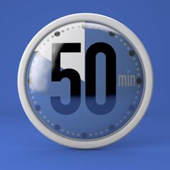Tempo, orologio, timer, cronometro, 50 minuti