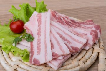 Sliced bacon