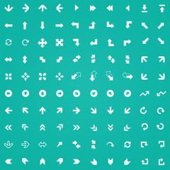 100 Arrows icons