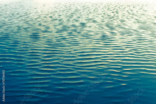 Ripples in ocean water - 78786403