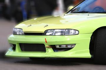 Rennwagen - Drift