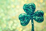 Saint Patricks Day green clover ornament - 78789450