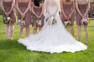 flowers dress gown bridesmaid bride sexy legs