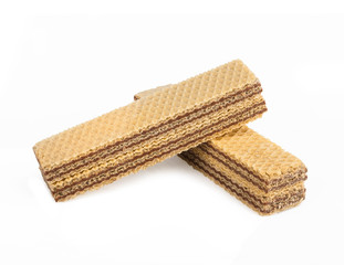 Wafers on white