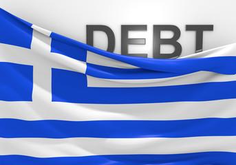 Greece national debt and budget deficit financial crisis