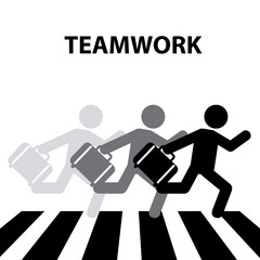 teamwork crosswalk