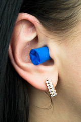 Blue Ear Plug