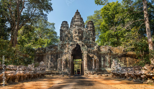 Angkor Thom Gate - 78793604