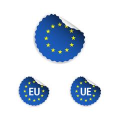 European Union Stickers