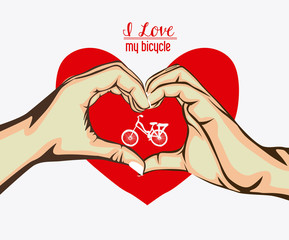 love heart, desing, vector illustration