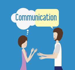 communicate, desing, vector illusttration