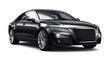 Modern black car - 78796468