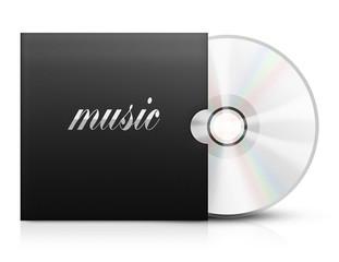 Ilustracja płyty z muzyką