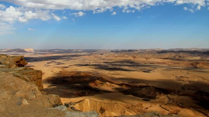 Ramon Crater at Negev Desert in Israel