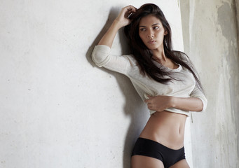 Sporty sexy body