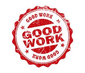 good work stamp