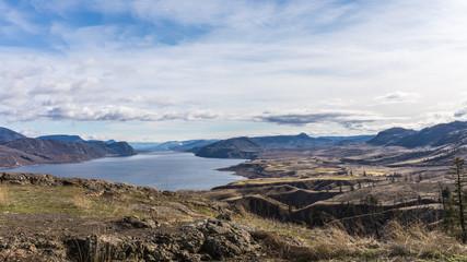 Kamloops Lake in the Cariboo Region of British Columbia