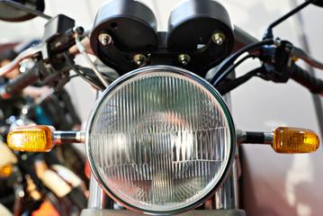Headlight motorcycle