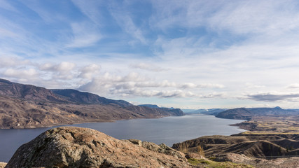 Kamloops Lake in Central British Columbia