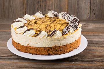 Eierlikör-Kokos-Torte
