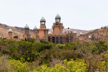 panorama of Sun City, The Palace of Lost City, South Africa