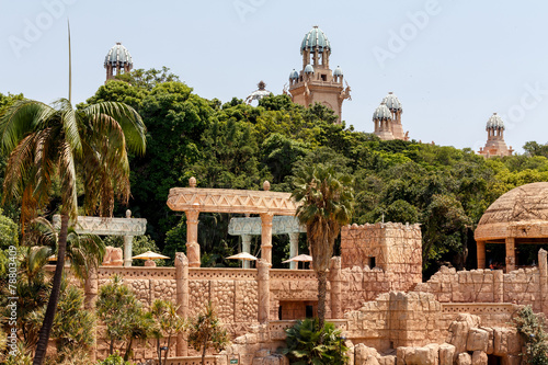 Staande foto Afrika Sun City, The Palace of Lost City, South Africa