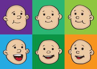 Happy Baby Faces