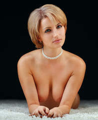 sensual nude woman