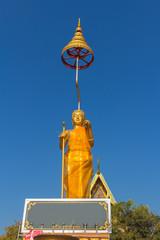 monk statue for Shin Thiwali or Sivali