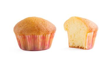 delicate fresh muffin