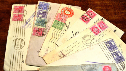 Old letters all over the world