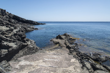 spiaggia a pantelleria
