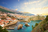 View on ancient castle in Dubrovnik. Croatia. - Fine Art prints