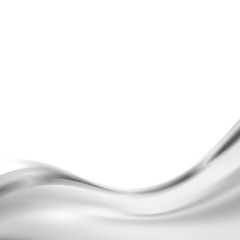 Modern metal wave border abstract folder design