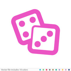 Sticker Icon - Vector file includes all colors