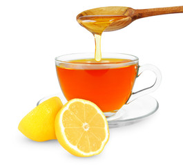 lemon tea with honey