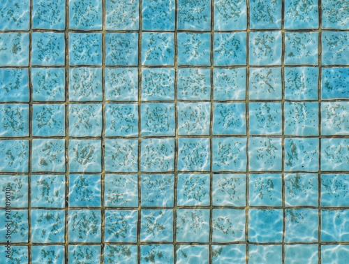 fototapeta na ścianę Basen ze stan wody brudnej