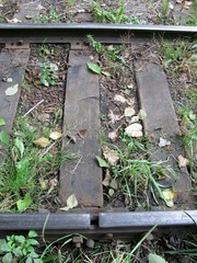 The broken rail