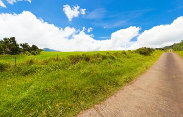 chemin de campagne, Plaine des Cafres, Réunion