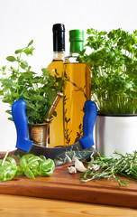 Herbs and herbal oil