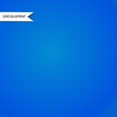 Blue millimeter paper background