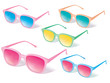 Sunglasses vector icon set. Vector illustration - 78812473