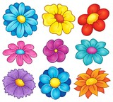 Flower theme collection 6