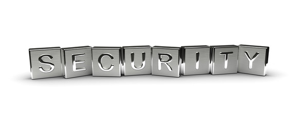 Metal Security Text