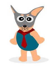 Funny dog Cartoon Vector