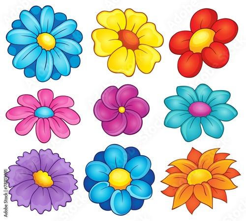 Kolekcja motywów kwiatowych 6